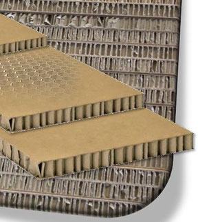 Trilatec uses honeycomb boards as replacement of wooden planks  -  company courtesy