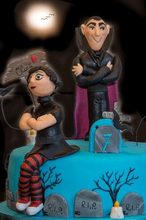 Graf Dracula mit Tochter Mavis