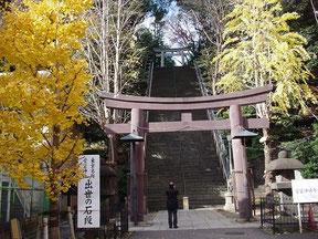 愛宕神社の一の鳥居