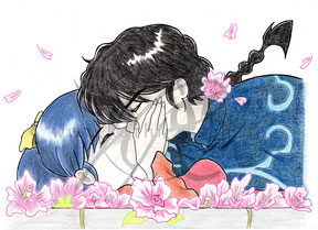 Ranma kiss Akane (traditionell)