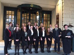 Brenner`s SPA - tolle Exkursion im Studiengang Gesundheits- und Tourismusmanagement