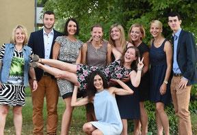 Bachelorfeier im Studiengang Gesundheits- und Tourismusmanagement