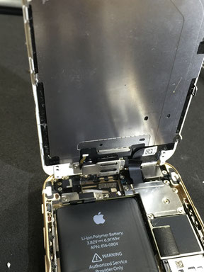iPhone修理 内部ネジ