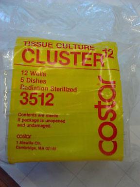 12-well Platten, Costar Tissue Culture Cluster 3512 sterile Ersatzteile und Zubehör für Chemie und Labor