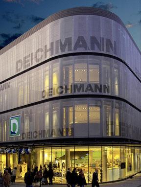 deichmann flagshipstore essen drahtler architekten dortmund planungsgrupe planung visualisierung architektur
