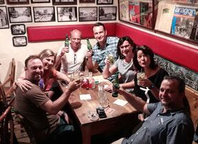Gäste des Nightwalk Dresden