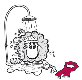 Grace O'Sheep - Reinigung und Pflege - S. Fischbacher Living