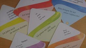 Die Kraft der Sprache - 80 Karten für den alltäglichen Sprachgebrauch