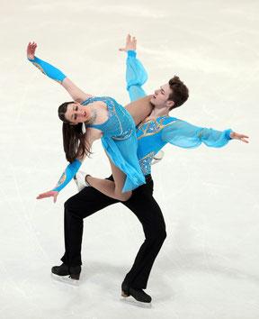 Kathi und Sevan - Kür Saison 2012/2013 -