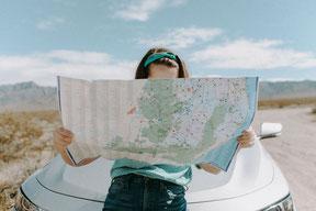 Choisir sur une carte où habiter