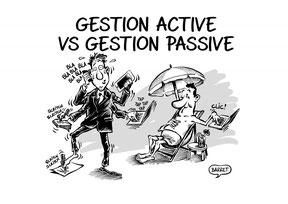 Dífférence entre la gestion active et la gestion passive