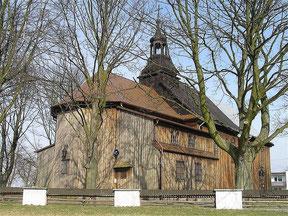 Kościół z 1804 r. pw. św. Piotra i Pawła
