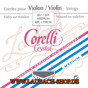 Corelli Crystal - Strings for violin BUY