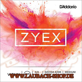 Buy D'Addario Zyex - Strings for violin