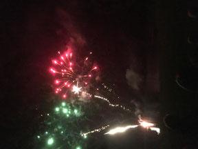 Feuerwerk Altfriedland
