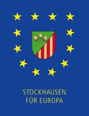 """Offizielles Logo des Vereins """"Stockhausen für Europa"""""""