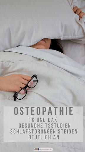 Osteopathie - Schlaf ist wichtig für Gesundheit und Wohlbefinden TK & DAK Gesundheitsstudien - Photo by twinsfisch on Unsplash