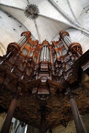 L'orgue de la cathédrale de Saint-Bertrand-de-Comminges, grand site touristique au cœur des Pyrénées centrales