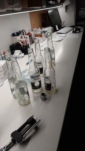 Laboratorio di sintesi del Corona Virus