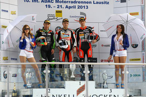 supersport podium rennen 1