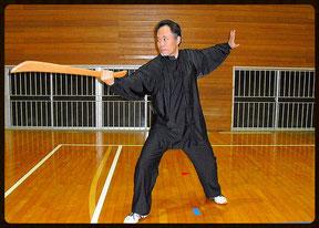 中国式刀術フィットネス