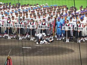 甲子園開会式2017