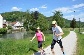 Trainingswettkampf der DSV-Langläufer