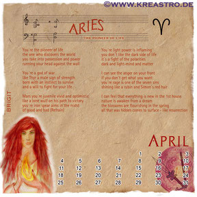 Cosmologia Booklet - Aries