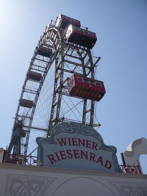 Riesenrad im Prater von Wien