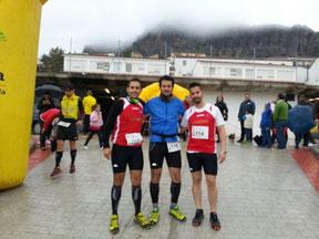 DE izq. a Der. Rafael Toledano, Jesús Campaña y Antonio Marín.