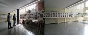 Ausstellung Schlossschule Foto: K-H Kuhn