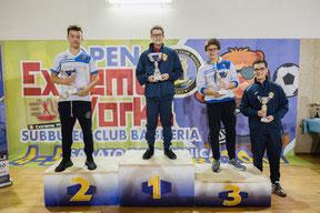 Alessandro Natoli sul gradino più alto del podio Under 19