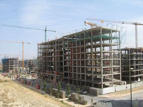 costruzione con ossatura in calcestruzzo armato