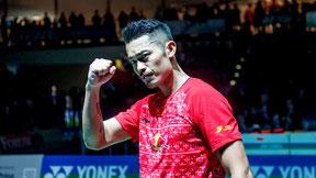 Holt Lin Dan als erster Badmintonspieler sein drittes Olympiagold? (Bild: Bernd Bauer)