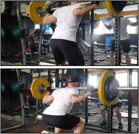 leg exercises squat