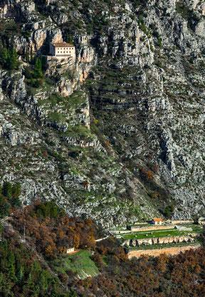 eremo di Sant'Onofrio e il santuario di Ercole Crino, Sulmona
