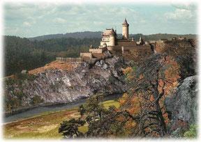 Rekonstruktion der Burg Velešín