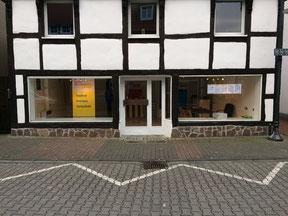 Die neue Geschäftsstelle von Stadt- und Kreisverband an der Berliner Str. 10 in Rheda