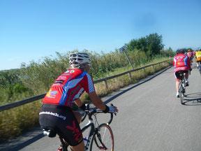 Cyclo en plein effort