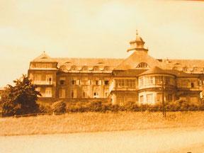 der bekannte Sanatorium-Ort Priessnitz