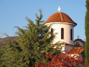 Kapelle an unserem Stellplatz