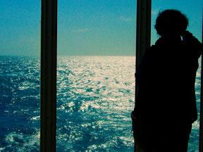 das unendlich scheinende Mittelmeer liegt nur vor uns