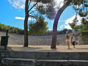 Aufgang zum Amphitheater
