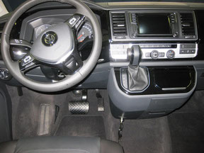Bear Lock im VW T6 Multivan Highline mit DSG