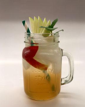 Apfelnade, Mocktail, Alkoholfreier Cocktail, Alkoholfreie Cocktails