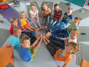 Kinder-Yoga Seminare und Workshops