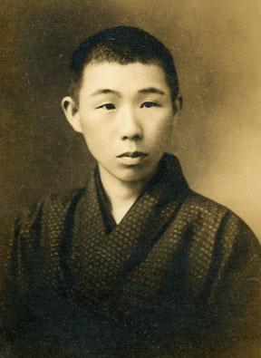 田垣内友吉(たがいとともきち)20歳頃