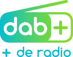DAB+, plus de radio, logo, DABplusFR