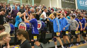 Die RWE Volleys und ihre Fans - ein schwer zu schlagendes Team.