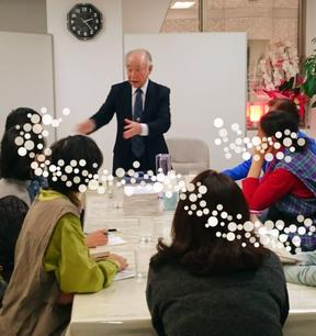 楊仙友先生12月4日講演会
